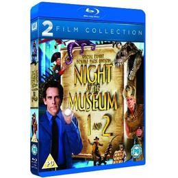 Night at the Museum / Night at the Museum 2 [Blu-ray] [2006]